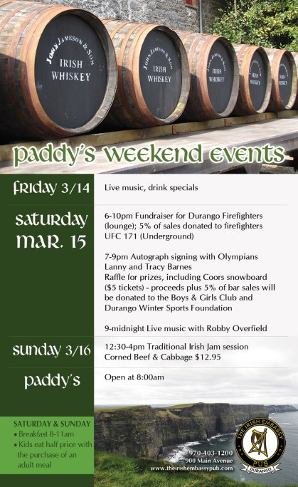 Paddy's Weekend Events