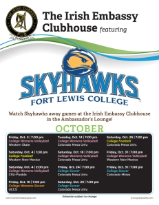 IE flyer skyhawks clubhouse games Oct